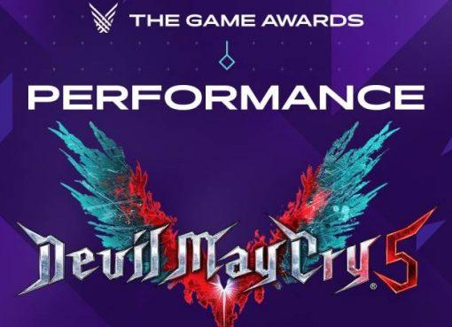 Imagem promocional da performance de Devil May Cry 5 na The Game Awards 2019