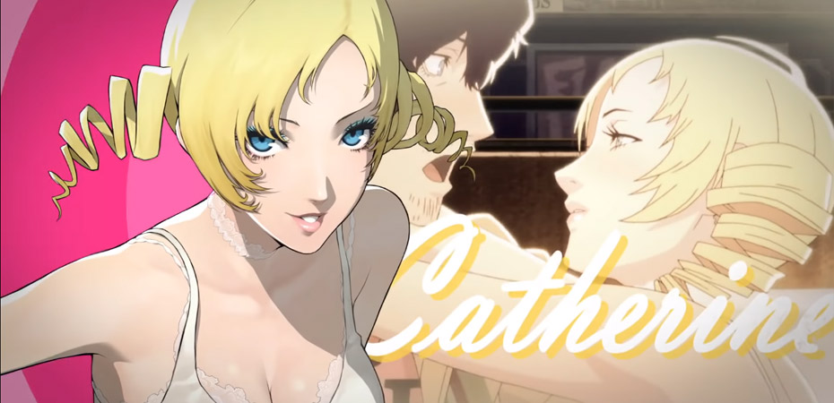 Catherine e Vincent, personagens de Catherine: Full Body.
