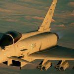 Aeronave Typhoon do jogo Ace Combat 7: Skies Unknown