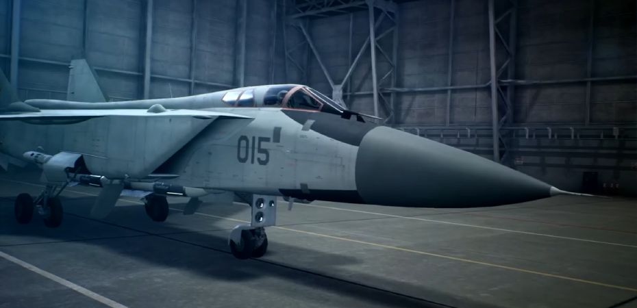 Aeronave MiG-31B em Ace Combat 7: Skies Unknown