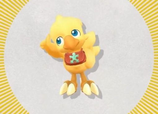 Imagem do Chocobo protagonista de Chocobo's Mystery Dungeon: Every Buddy