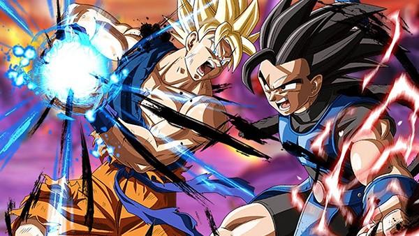 Arte de Dragon Ball Legends, o melhor jogo de 2018 da Google Play Store
