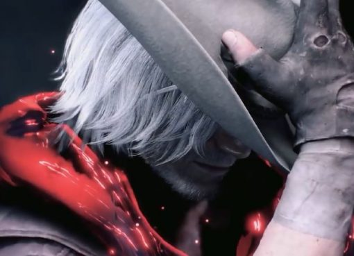 Dante em Devil May Cry V