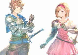 Arte de personagens de Granblue Fantasy Relink