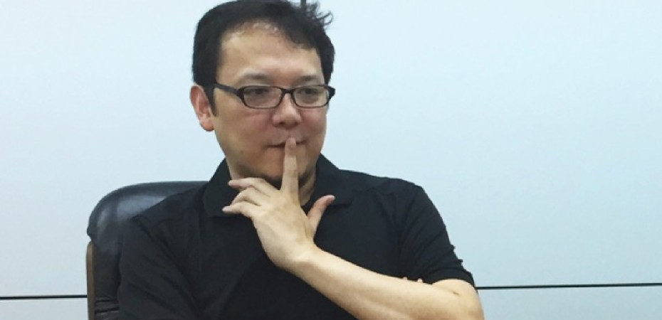Foto do diretor Hidetaka Miyazaki