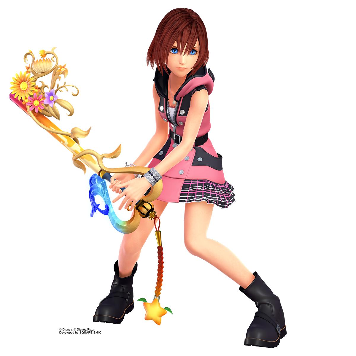 Imagem de Kairi em Kingdom Hearts III