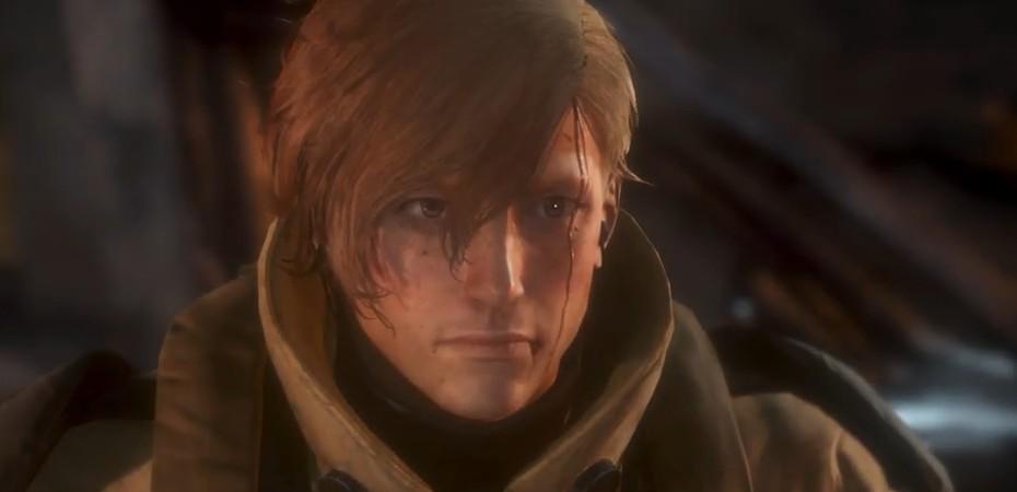 Imagem de um dos protagonistas de Left Alive
