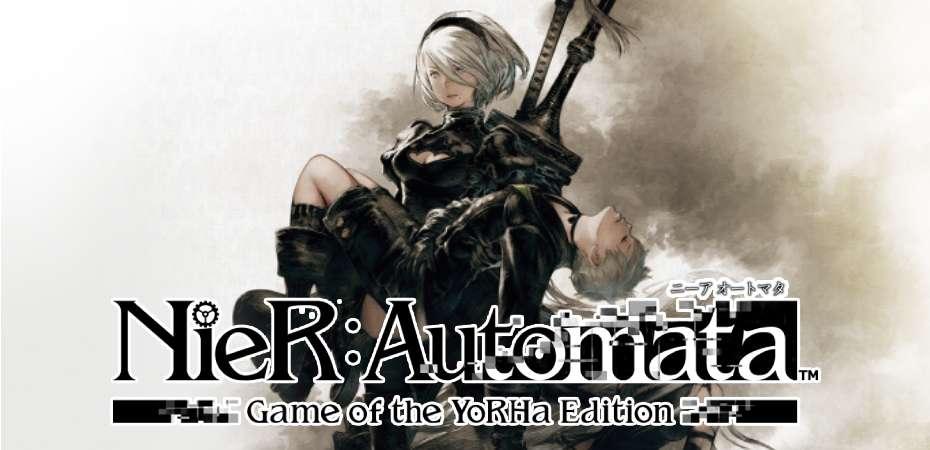 Arte e logo de NieR: Automata Game of the YoRHa Edition