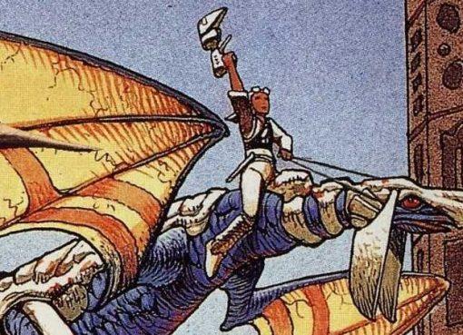 Arte do Panzer Dragoon original