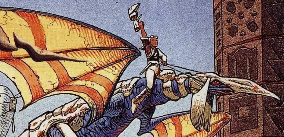 Arte do Panzer Dragoon original