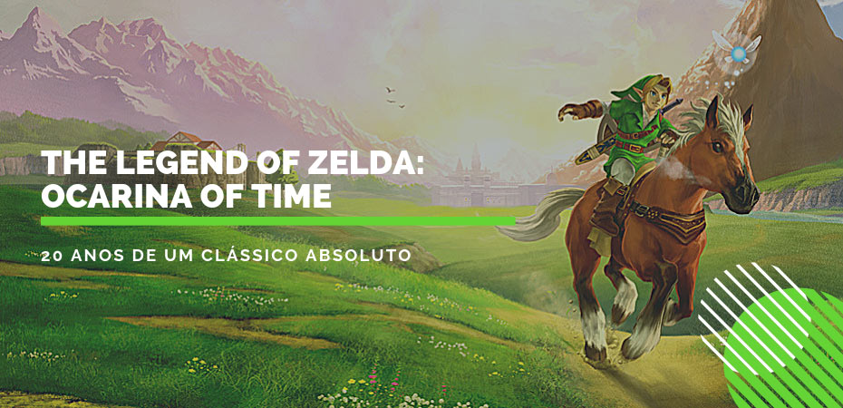 <i>The Legend of Zelda: Ocarina of Time</i> – 20 anos de um clássico absoluto