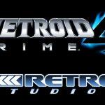 Logo de Metroid Prime 4 e Retro Studios