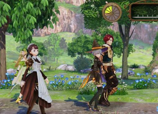 Screenshot de Nelke & the Legendary Alchemists