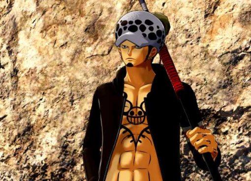 Screenshot de Trafalgar Law em One Piece: World Seeker