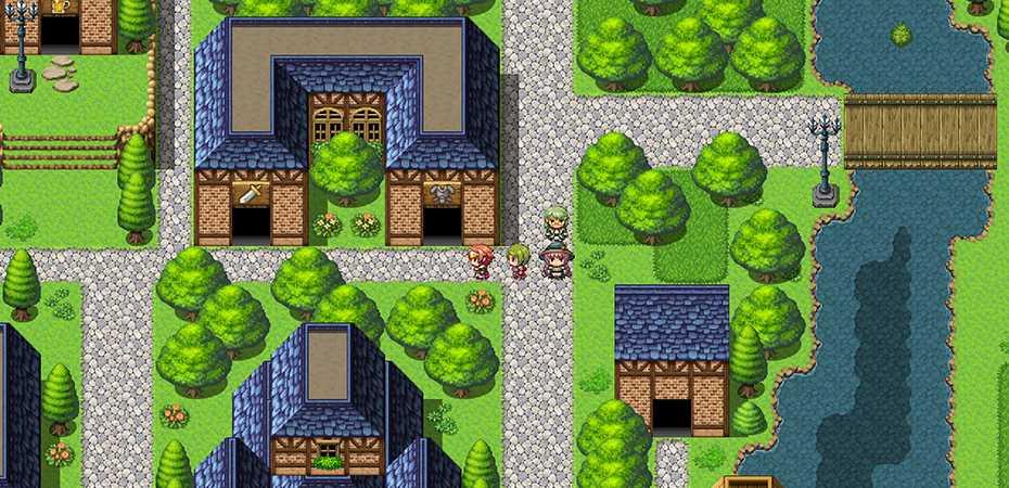 Screenshot do RPG Maker MV