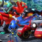 Eggman, Zavok, e Metal Sonic em Team Sonic Racing