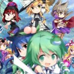 Arte de personagens de Touhou Genso Wanderer: Lotus Labyrinth