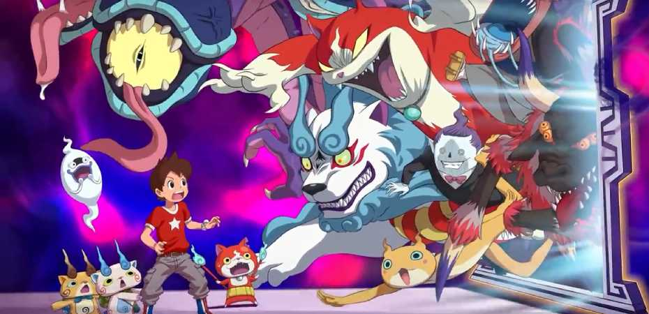 Arte de Yo-kai Watch 4