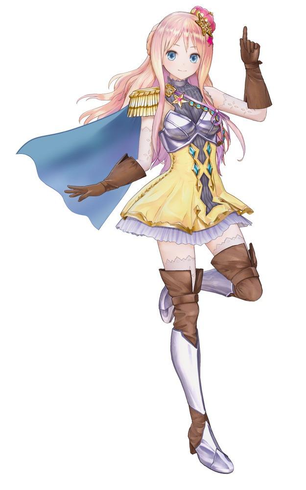 Modelo 3D da personagem Meruru em Atelier Lulua