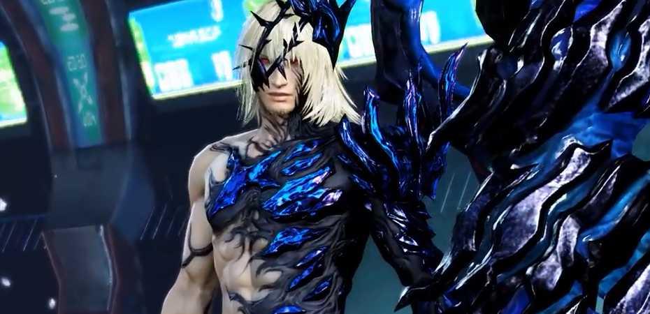 Screenshot de Snow Villiers em Dissidia Final Fantasy NT