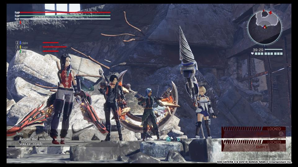 Screenshot de God Eater 3