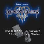 Walkman e headphone de Kingdom Hearts III