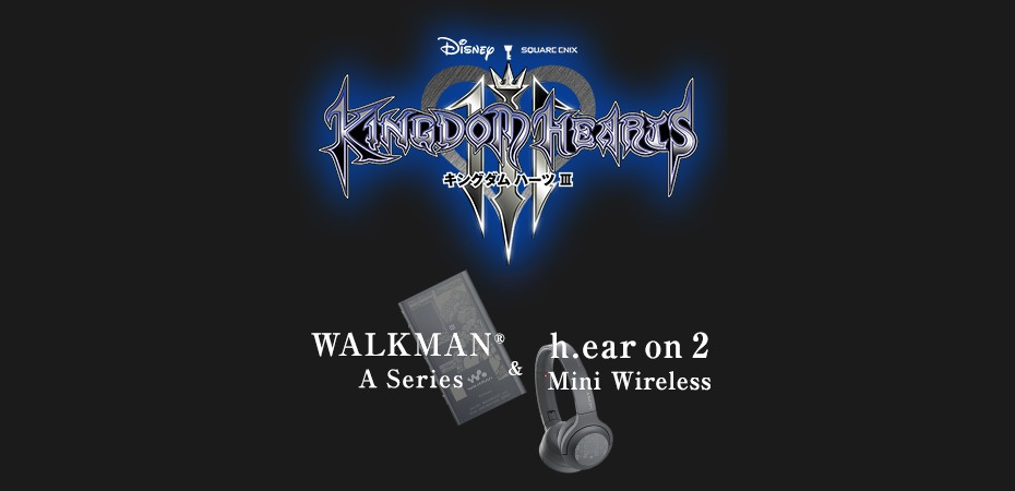 Walkman e headphone de Kingdom Hearts III