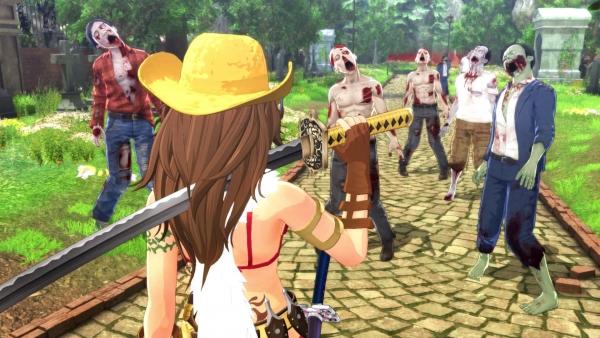 Screenshot de Onechanbara Origin