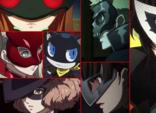 Imagens do episódio especial Stars and Ours de Persona 5 the Animation