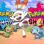 Logotipo e imagens de Pokémon Sword e Pokémon Shield