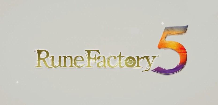 Logotipo de Rune Factory 5