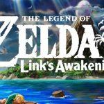 Arte e logotipo do remake de The Legend of Zelda: Link's Awakening