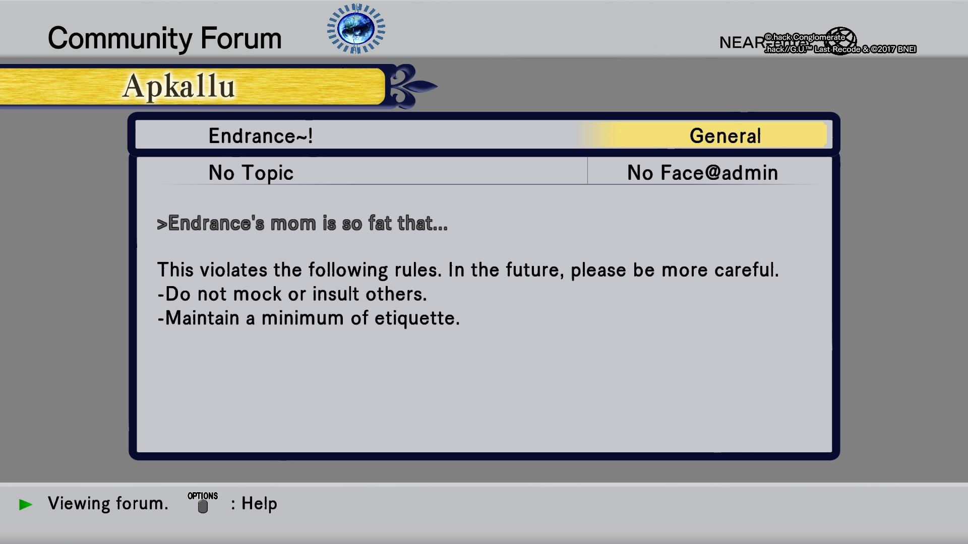 Screenshot de .hack//G.U. Last Recode