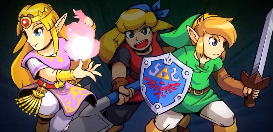 Arte de Cadance of Hyrule: Crypt of the Necrodancer feat. The Legend of Zelda