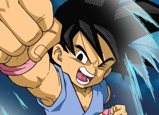 Arte de Goku em Dragon Ball GT