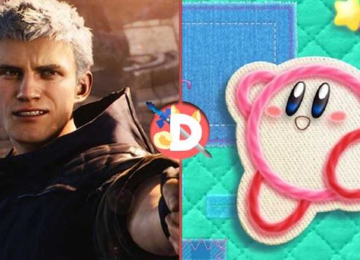 Imagem de Devil May Cry 5 e Kirby's Extra Epic Yarn