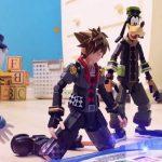 Captura de tela do trailer stop-motion de Kingdom Hearts III