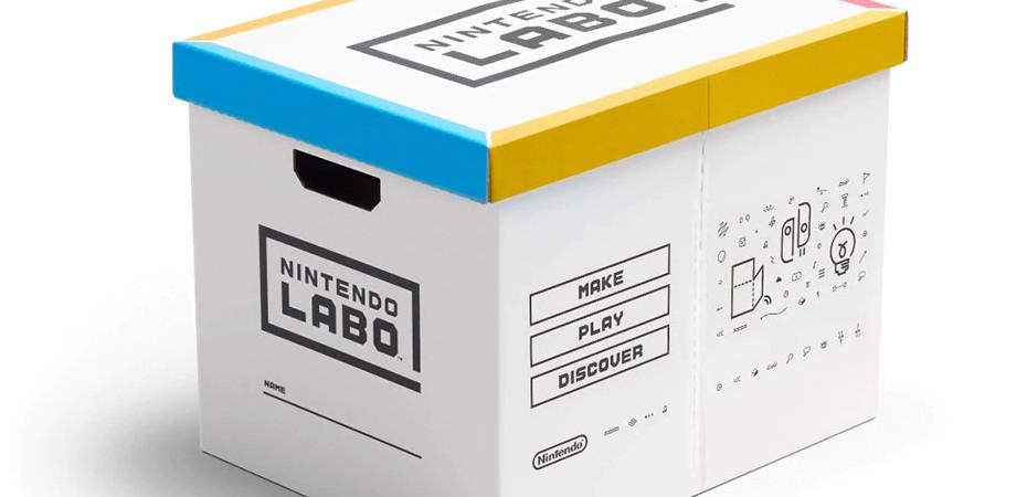 Imagem da caixa Nintendo Labo Okatazuke