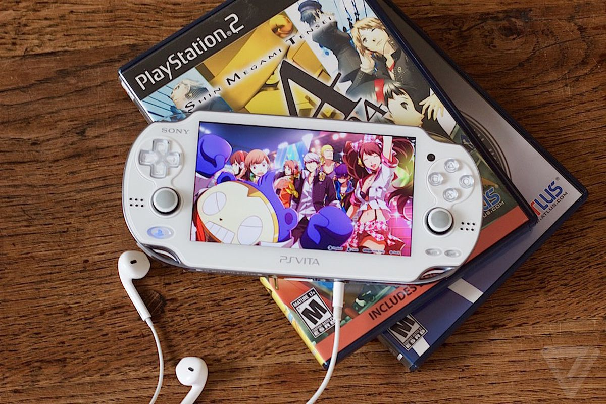 Foto do PlayStation Vita