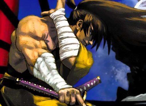 Arte de Samurai Shodown V Special, que também será incluído na coleção Samurai Shodown NeoGeo Collection