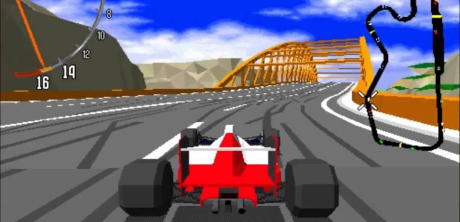 Screenshot de Virtual Racing