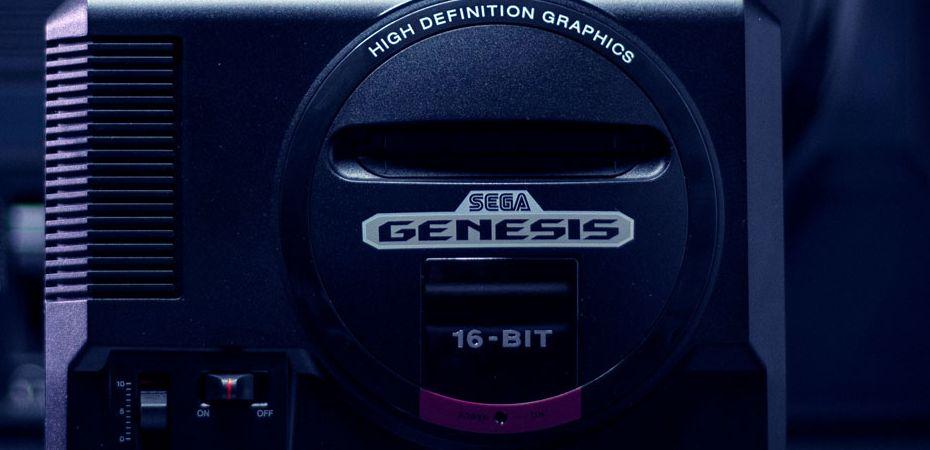 Imagem promocional do Sega Genesis Mini