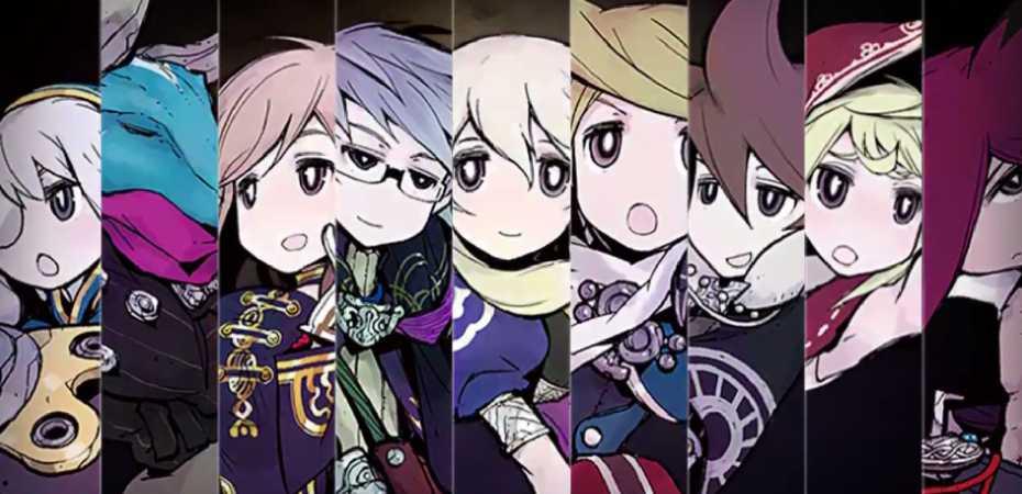 Arte de personagens de The Alliance Alive