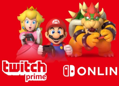 Twitch Prime e Nintendo Switch Online