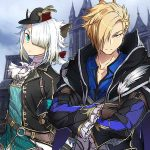 Arte de personagens de Ys IX: Monstrum Nox