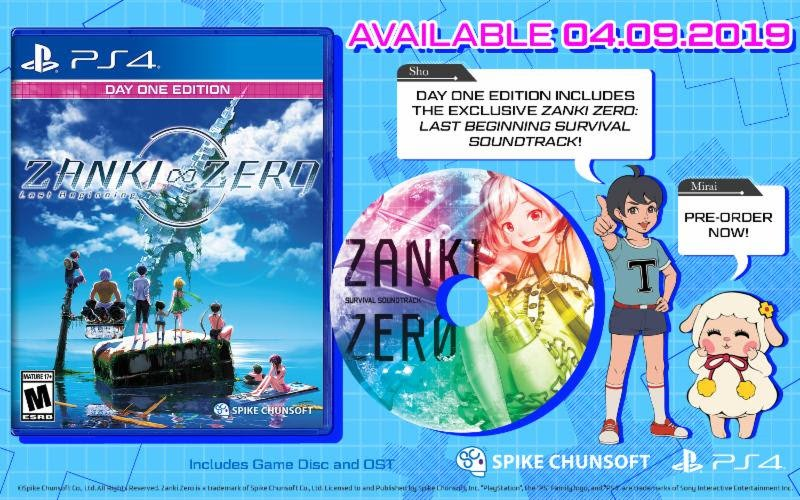 Day One Edition de Zanki Zero: Last Beginning