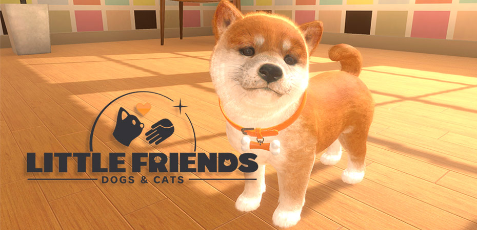 <i>Little Friends: Dogs & Cats</i> de Nintendo Switch é anunciado para o ocidente