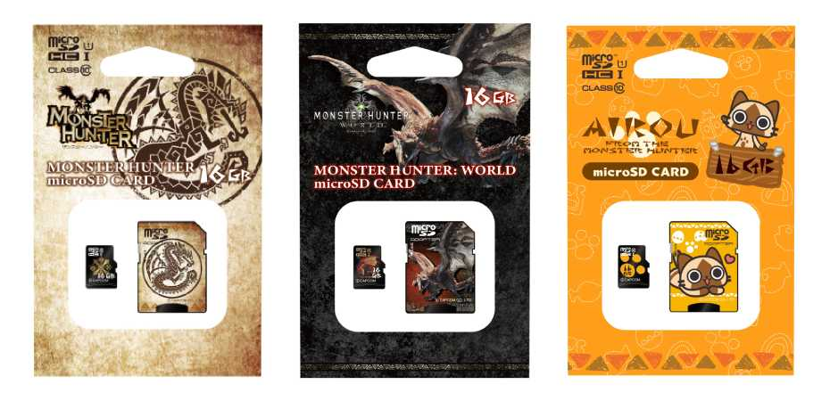 Imagem do Monster Hunter microSD Card
