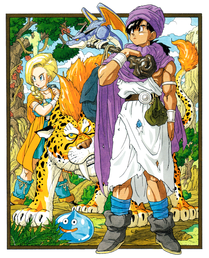 Arte de capa de Dragon Quest V