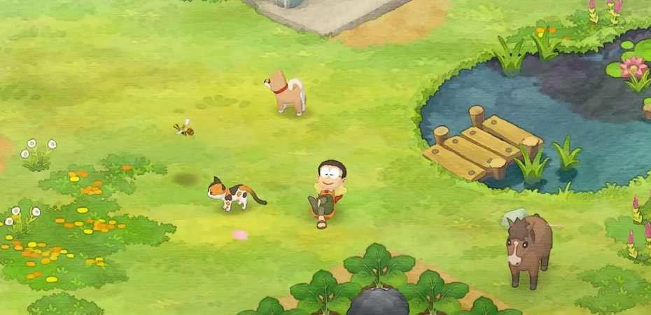 Screenshot de Doraemon: Nobita no Bokujou Monogatari